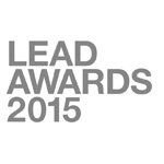 Logo LEAD AWARDS 2015