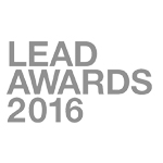 Logo LEAD AWARDS 2016